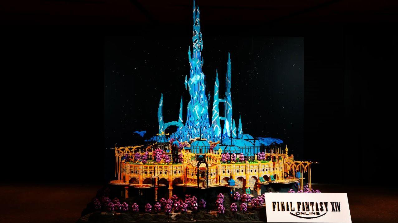 how-the-hub-city-of-final-fantasy-xiv:-endwalker-got-turned-into-lego-art
